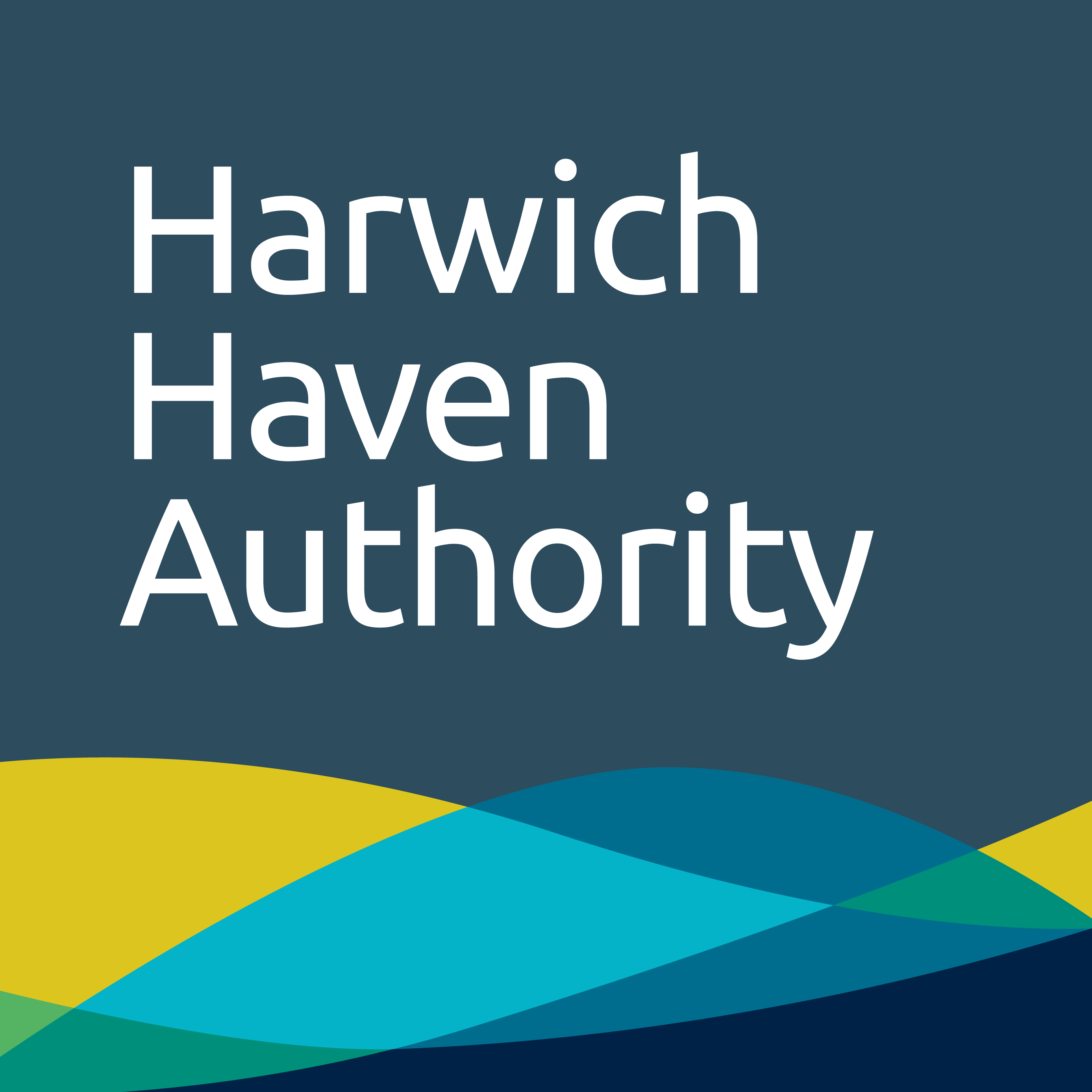 Harwich Haven authority logo. Employment law services